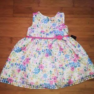 NEW Spring Floral Easter Dress